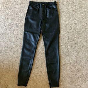 Free People Leather Pants